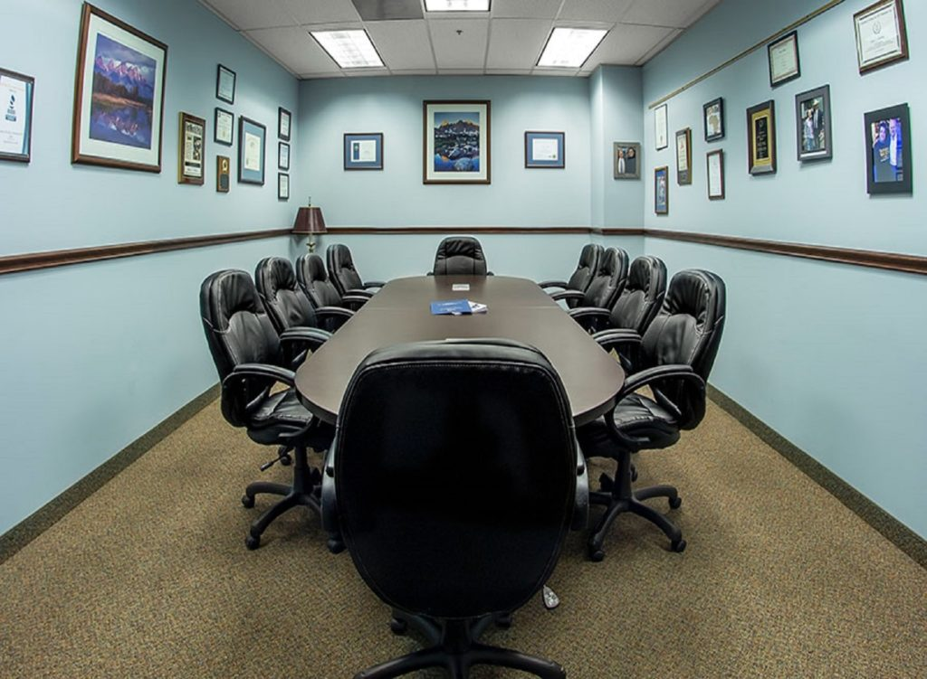 boardroom to hold meetings